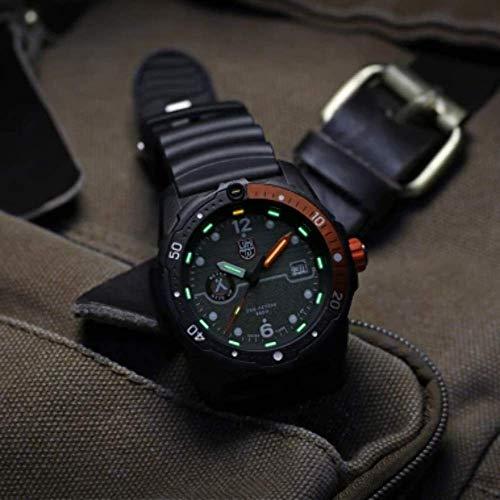 Luminox Limited Edition Bear Grylls Wrist Watch | Black/Orange