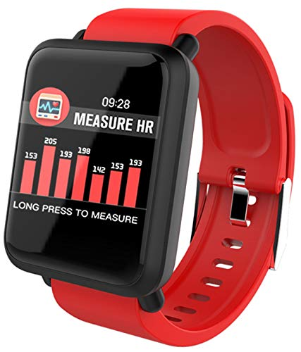 Smart Watch Heart Rate Monitor Pedometer Blood Pressure Message Reminder