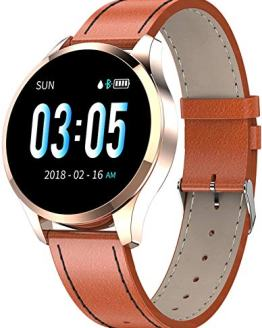 Smart Watch Fitness Tracker Color Screen Heart Rate Sleep Monitor Calorie