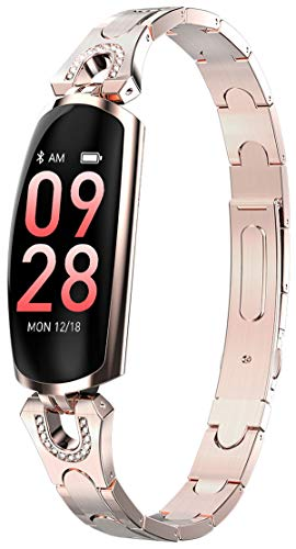 Smart Watch for Women Heart Rate Monitor Blood Pressure Call Reminder
