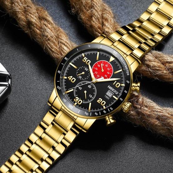 Watch Man Wrist Watch Custom Design Sports Waterproof