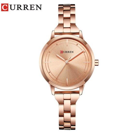 CURREN Fashion Stainless Steel Band Quartz Watch Luxury