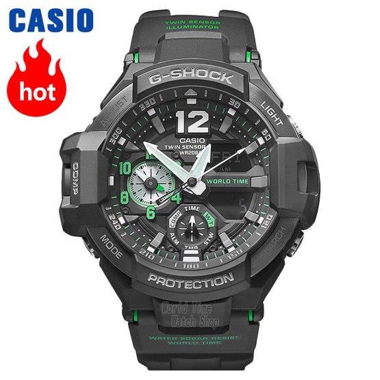 Casio watch G-SHOCK flight watch men top luxury set military