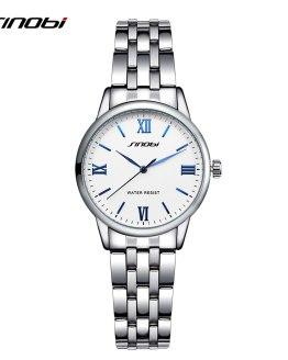 Fashion Women Wrist Watches Stainless Steel Watchband