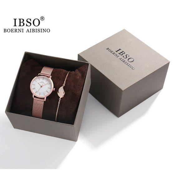 Luxury Bracelet Watches Set For Women Fashion Geometric
