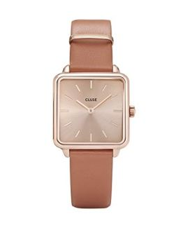Watch with Brown Leather Strap CLUSE