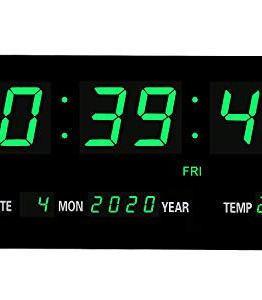 Conference Room Oversized LED Digital Wall Clock