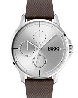 HUGO by Hugo Boss Men's #Focus Stainless Steel Quartz Watch