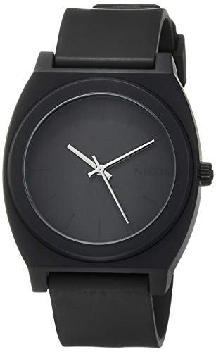 Nixon Time Teller P A119. Matte Black Men's Watch