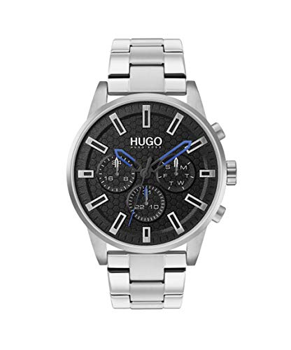 HUGO by Hugo Boss Men's Seek Quartz Watch with Stainless Steel Strap