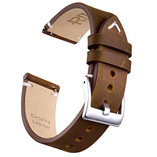 Timex Watch Bands Quick Release Leather Watch Strap