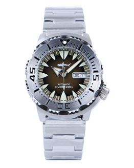 AMOY Automatic Watches for Men,Mens Diver Mechanical Wristwatch