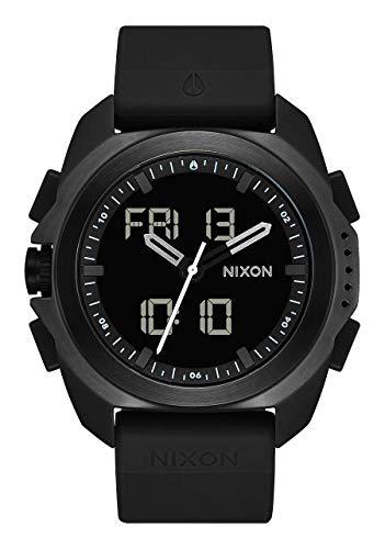 NIXON Ripley - Black PU Analog Digital Watch