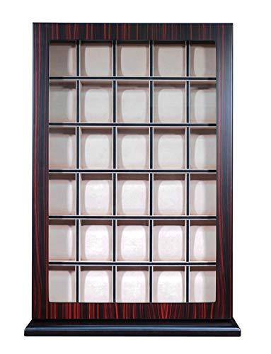 Wood Watch Display Case and Storage Organizer Box