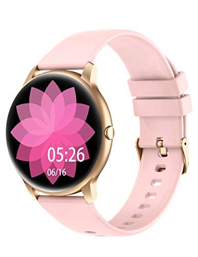 Smart Watch Compatible iPhone and Android Phones IP68 Waterproof