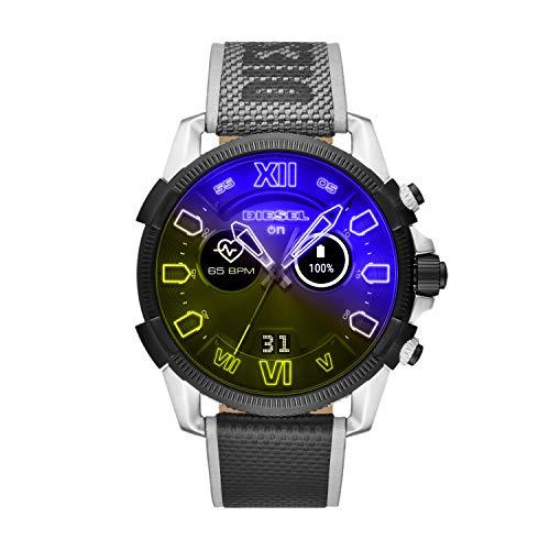 HR Heart Rate Nylon Touchscreen Smart Watch Diesel