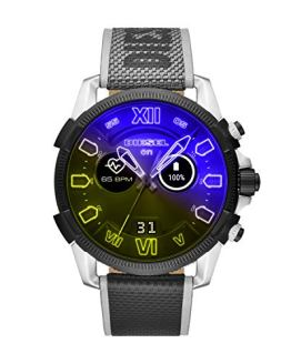 HR Heart Rate Nylon Touchscreen Smart Watch Diesel