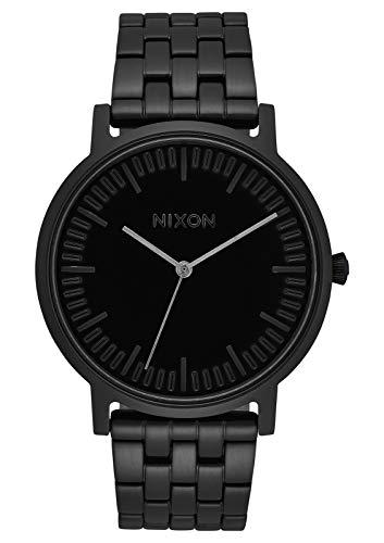 NIXON Porter- All Black - 50m Water Resistant Men's Analog Classic Watch