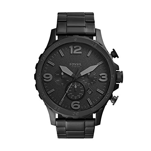Fossil Men's Nate Quartz Stainless Chronograph Watch