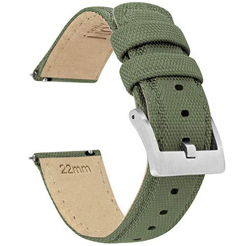 Army Green BARTON Sailcloth Quick Release