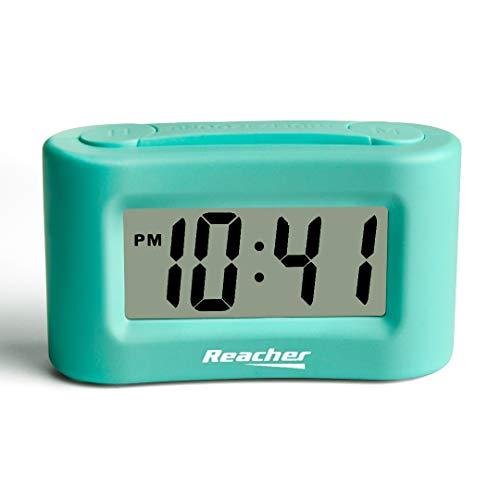 Reacher Mini Battery Operated Alarm Clock - Simple Basic Operation