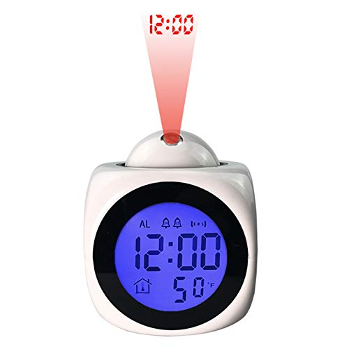 Projection Clock Temperature Projector Led Digital Projection