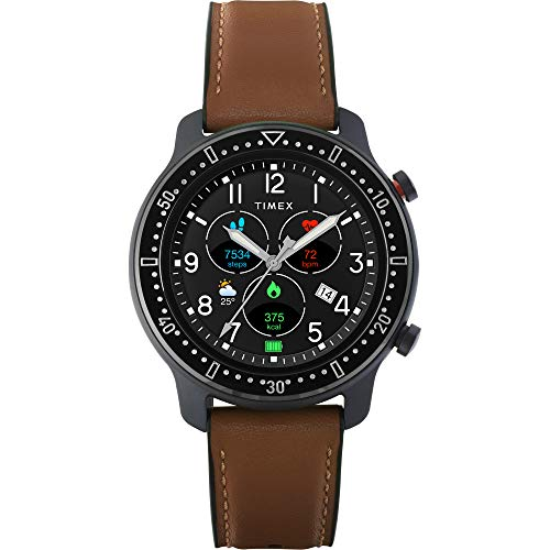Timex Metropolitan R AMOLED Smartwatch with GPS, Heart Rate