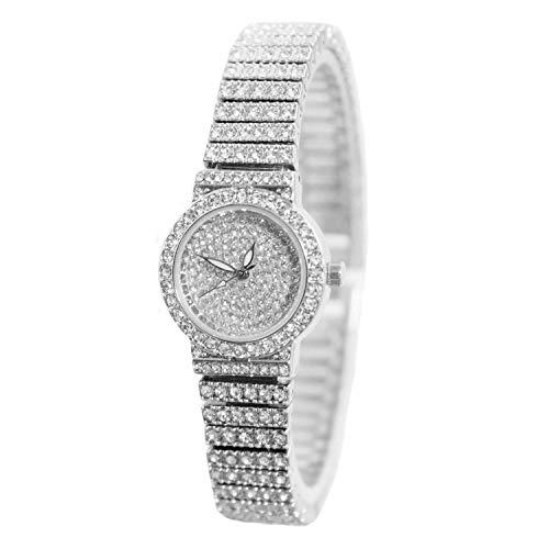 Ladies Dress Watch Luxury Quartz Small Face Diamond
