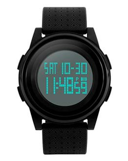 Digital Sports Watch LED Screen Electronic Military