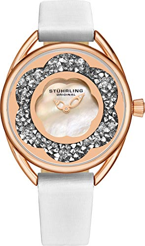 Stuhrling Original Womens Watches with Mother of Pearl Face