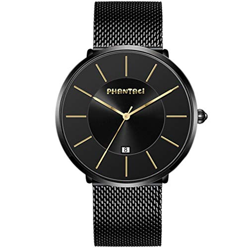 PHANTACI Reloj Biden Hombre Ultrathin Minimalist Watches