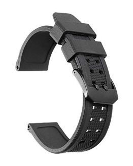 iStrap Luminox Silicone Watch Band 23mm Rubber Strap