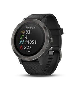 Black Garmin vívoactive 3 GPS Smartwatch