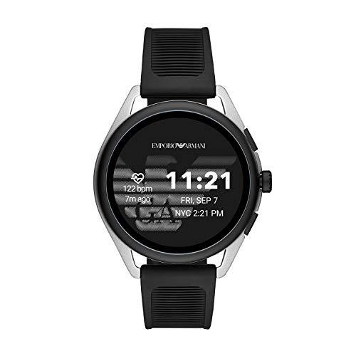 Emporio Armani Men's Smartwatch 3 Touchscreen Aluminum