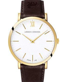 Larsson Jennings LJXII Lugan Watch with 40mm Satin White dial