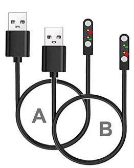 Magnetic Chargers Set Support ID205L ID205U Smart Watch