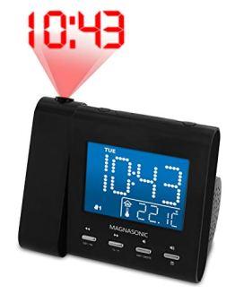 Magnasonic Projection Alarm Clock with AM/FM Radio