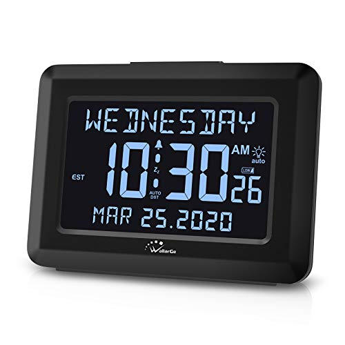 Autoset Alarm Clock Large Display Desk