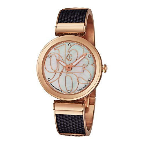 Rose Gold Charriol Forever Dress Watch