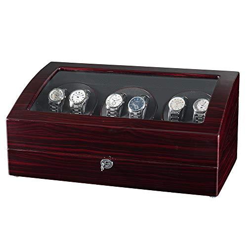 JQUEEN Watch Winders 6 with 7 Storages