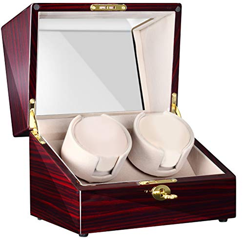 Double Watch Winder LCD with Touch Panel