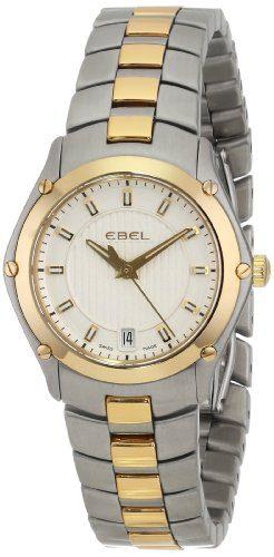 18k Gold Dress Watch EBEL Women's Sport Stainless Steel