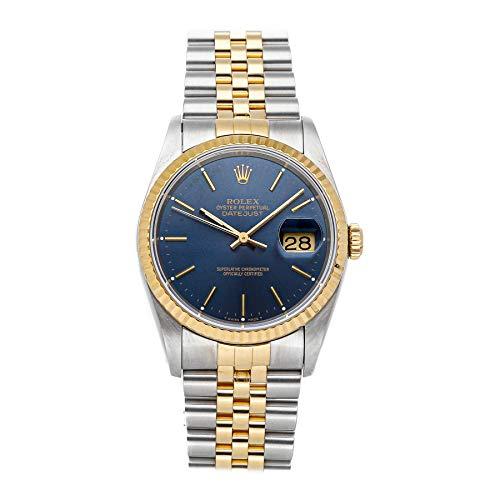 Rolex Datejust Mechanical (Automatic) Blue Dial Mens Watch