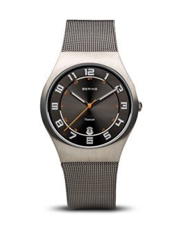 BERING Time | Men's Slim Watch 11937-007 | 37MM Case
