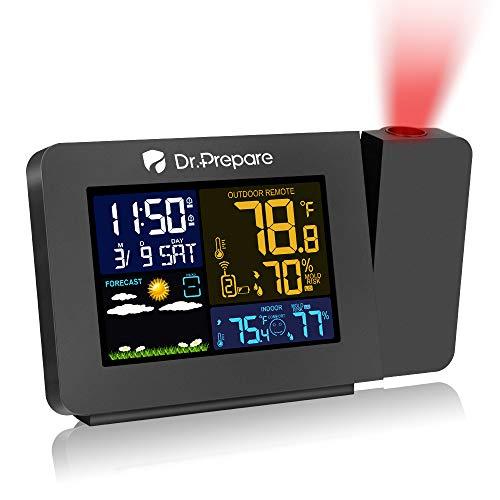 Weather Forecast Projection Alarm Clock
