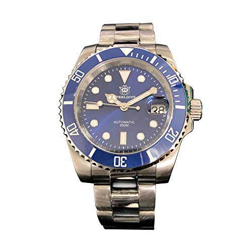 Mens Automatic Watches,Watch Men Stainless Steel AMOY
