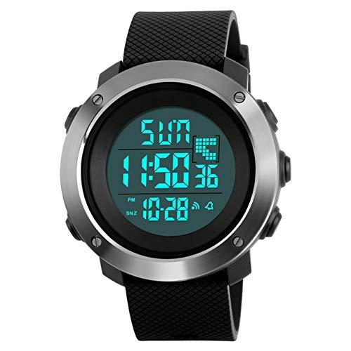 YEENIK Men's Digital Sports Hand Watch, Led 50M Waterproof