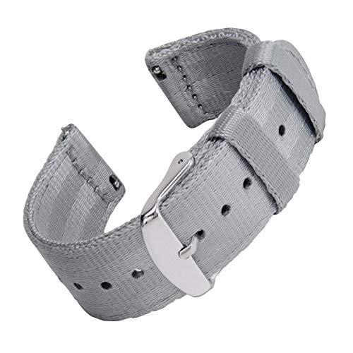 Archer Watch Straps - Seat Belt Nylon Quick Release Watch Bands