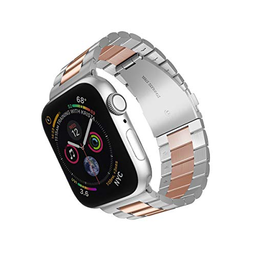 Rose Gold Stainless Steel Replacement Apple Watch Band