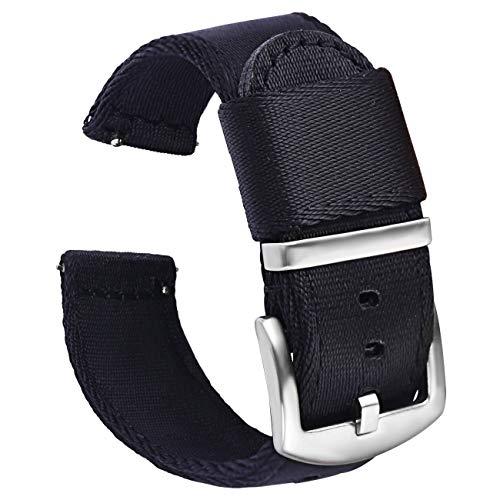 PBCODE Premium Seat Belt Mens Watch Bands Nylon
